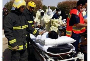 بالصور..وفاتان و4 إصابات في حريق بـ«مستشفى شعبة نصاب العام»