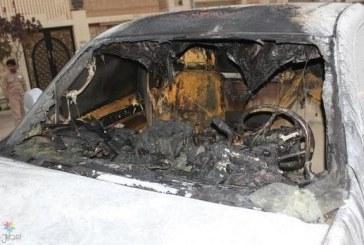 """القبض على """"عشريني"""" أحرق سيارة مواطن في القصيم"""