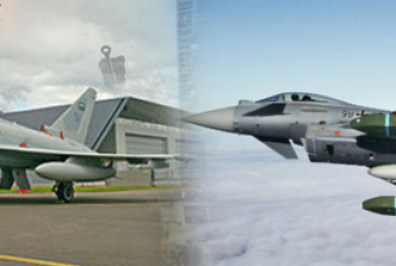 """72 مقاتلة """"يوروفايتر"""" تعزز قدرات المملكة الدفاعية"""
