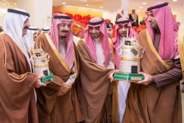 خادم الحرمين يرعى سباق الخيل على كأس الملك عبد العزيز رحمه الله
