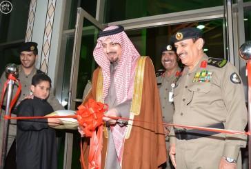 أمير عسير يفتتح مبنى مديرية شرطة المنطقة