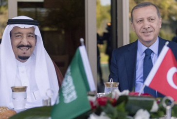 الملك سلمان وأردوغان يستعرضان في اتصال هاتفي العلاقات الثنائية بين البلدين