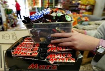 """""""الغذاء والدواء"""" تحذر من استهلاك عدد من منتجات الشوكولاتة لشركة مارس"""