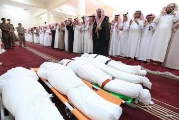 أهالي الداير يشيعون ضحايا حادثة مكتب التعليم