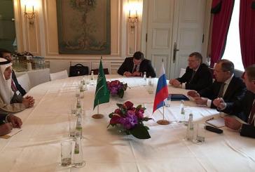 الجبير يعقد اجتماعا ثنائياً مع وزير خارجية روسيا