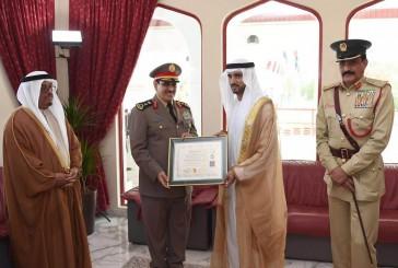 منح جائزة دبي للقيادات الشرطيه التنفيذيه للفريق عثمان المحرج