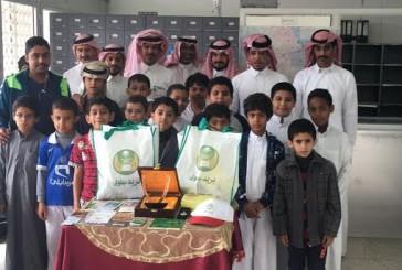 طلاب ابتدائية سلوى يزورون البريد السعودي