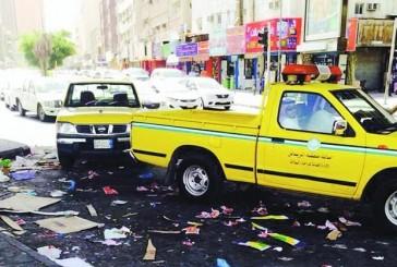 أمانة الرياض تغلق 76 منشأة وتستبعد 288 عاملاً في البطحاء