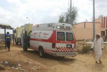 وفاة طفلين اختناقاً بحريق منزل في قرية العقلة بالعارضة