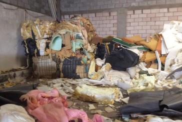 """ضبط معامل الاسفنج الملوث تغلق 3 مستودعات في """"المدينة المنورة"""" و""""الرياض"""" و""""جدة"""""""