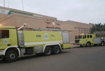 إخلاء ستة أطفال من حضانة مستشفى أبو عريش