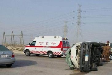 وفاة طالبة وإصابة 9 أخريات إثر حادث سير على طريق الجبيل – الظهران