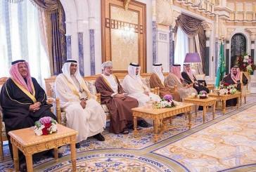 الملك يستقبل الزياني ورؤساء أجهزة حماية النزاهة ومكافحة الفساد بدول الخليج