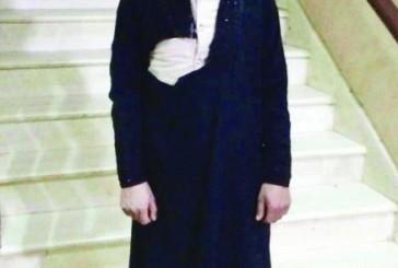 هيئة القويعية تقبض على وافد بملابس نسائية