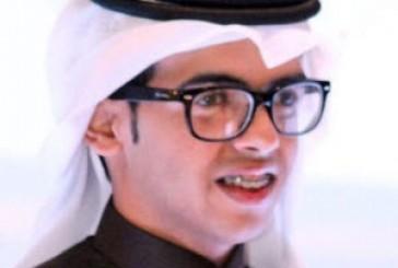 يشارك  في اللقاء العلمي السابع كأول كفيف في المملكة الخبراني يشكر جامعة الملك سعود على جهودها