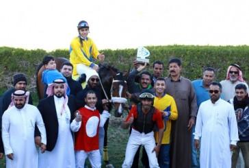 """الفرس""""تالده""""تتوج بكأس الأمير سلطان بن محمد في حفل الجبيل"""