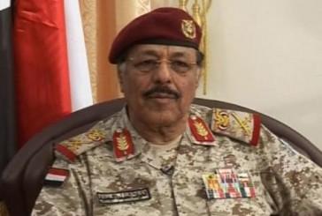 """""""هادي"""" يعين علي محسن الأحمر نائبا للقائد الأعلى للقوات المسلحة اليمينة"""