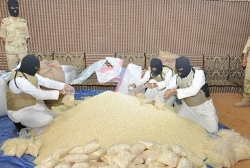 قوات الأمن تضبط 10 آلاف حبة مخدرة و 4 كجم حشيش كل ساعة