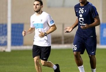 الهلال: ديغاو وإدواردو يبدآن الجري حول الملعب
