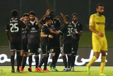 الخليج يواصل الانتصارات بثلاثية في نجران