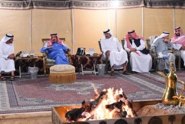 أمير دولة قطر يلتقي ولي عهد أبوظبي في حفر الباطن