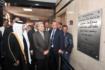 قطان يدشن مشروع وحدة الأطفال المبتسرين بتكلفة 20 مليون جنيه بمستشفى قصر العيني بالقاهرة
