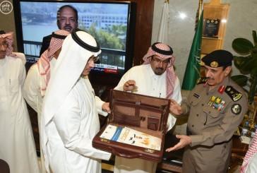 """مدير الأمن العام يستقبل أمين عام اللجنة الوطنية لمكافحة المخدرات""""نبراس"""""""