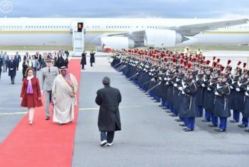 ولي العهد يصل إلى جمهورية فرنسا في زيارة رسمية
