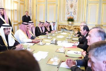 بيان مشترك بمناسبة زيارة ولي العهد لجمهورية فرنسا
