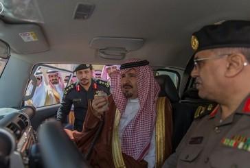 أمير الجوف يدشن دوريات الأمن بشكلها الجديد