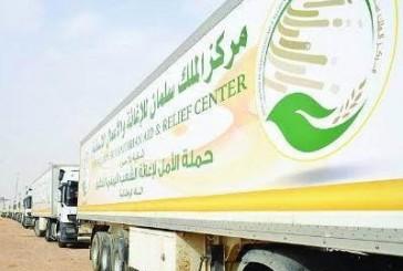 وصول طلائع مساعدات مركز الملك للإغاثة الطبية إلى تعز