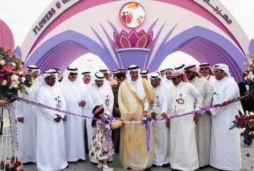 افتتاح مهرجان الزهـور والحدائق في ينبع الصناعية