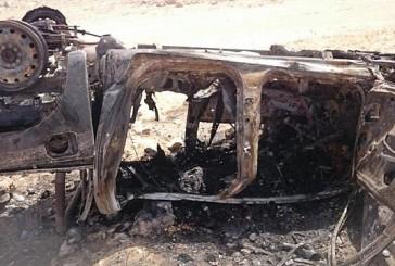 تفحم ستة أشخاص في حادث انقلاب على طريق خريص الأحساء