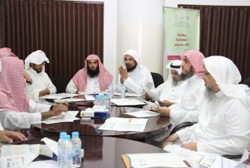 تحفيظ الرياض تنتهي من حصر نسبة قياس الرضا للقطاعات والميدان