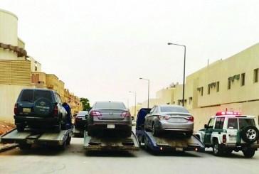 حملة مرورية أمنية تطيح بـ ٢٠٠ مفحطاً ومتجمهراً في الرياض