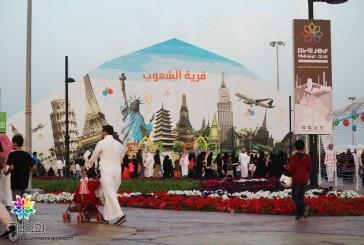 40 ألف زائر لمهرجان تراث الشعوب ليومه الثاني