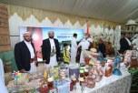 """قصر """"سيئون""""والقهوة """"الخولانية"""" بجناح اليمن في مهرجان تراث الشعوب بالجبيل"""