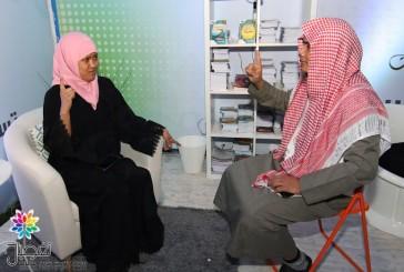"""تسع عاملات يدخلن الإسلام بمكتب دعوة""""الرسالة"""" بمهرجان تراث الشعوب"""