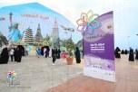 أكثر من 129 ألف زائر يتوافدون على مهرجان تراث الشعوب بالجبيل الصناعية