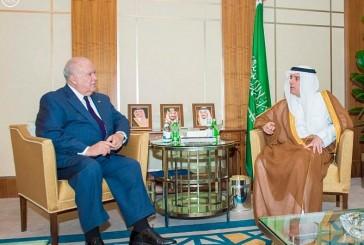 وزير الخارجية يستقبل السفير الأمريكي لدى المملكة