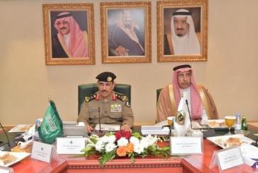 مدير الأمن العام يلتقي معالي أمين منطقة الرياض