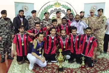 فريق منشآت راس تنورة يحقق المركز الأول في بطولة أمن المنشآت بالمنطقة الشرقية