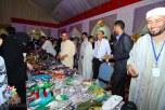 شجرتي الارجان والعرعار تميزان الجناح المغربي بمهرجان تراث الشعوب