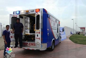برنامج الخدمات الصحية متواجد في مهرجان تراث الشعوب