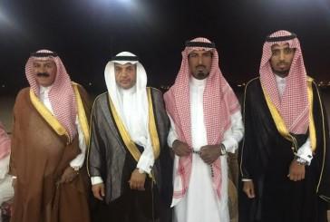 الحراجين تحتفل بزواج مبارك بن فياض