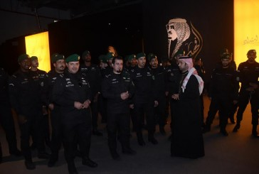 """""""الحرس الملكي """" بالشرقية يزورون معرض الفهد روح القيادة"""