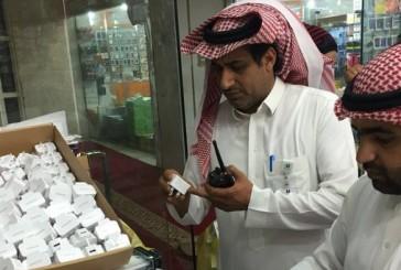 بالصور.. «التجارة» تضبط 5751 جهاز «آيفون» مقلداً في الرياض