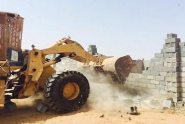 إحباط سرقة 70 ألف متر أراض حكومية بجدة