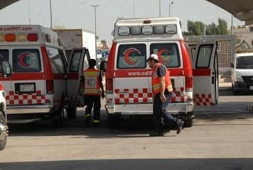 إصابة أربع اشخاص في حادث سير على طريق الجوف الدولي