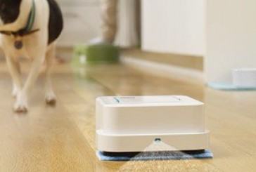 بالصور.. روبوت ذكى جديد صغير الحجم لتنظيف المطابخ ودورات المياه